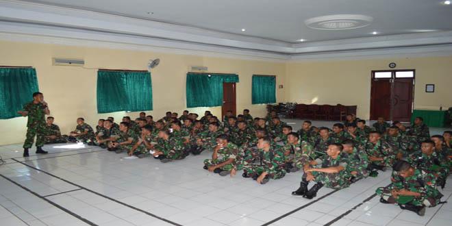 Korem Gelar Penyuluhan Hukum Anggota TNI