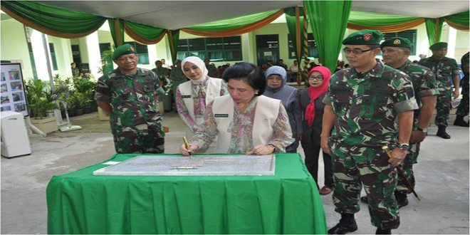 Renovasi Gedung SD Kartika II-3 Senopati Palembang Diresmikan