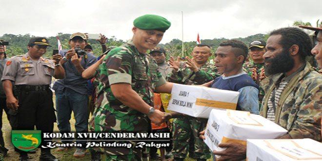 Puncak Kegiatan Bhakti Sosial TNI