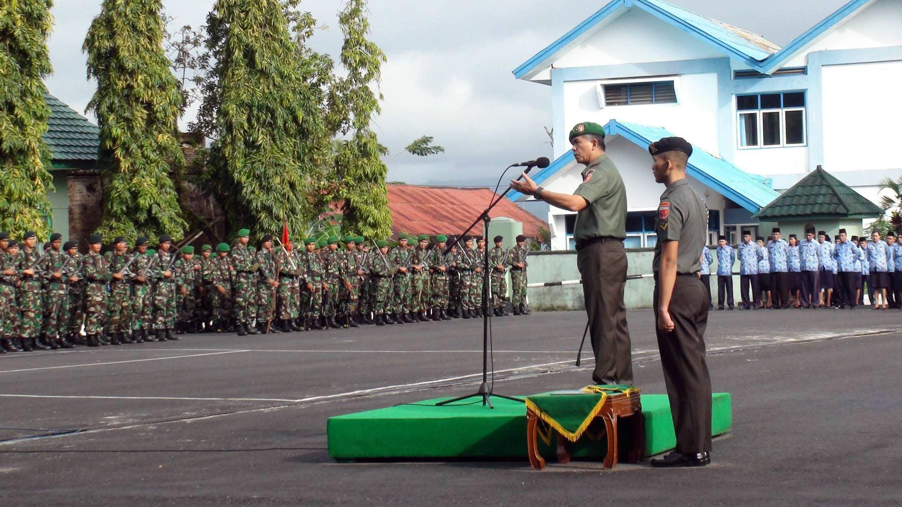 """Panglima TNI : """"TNI akan tetap Konsisten dalam melaksanakan tugas-tugas Pertahanan dalam Konteks menjaga dan melindungi segenap Bangsa dan Negara"""""""