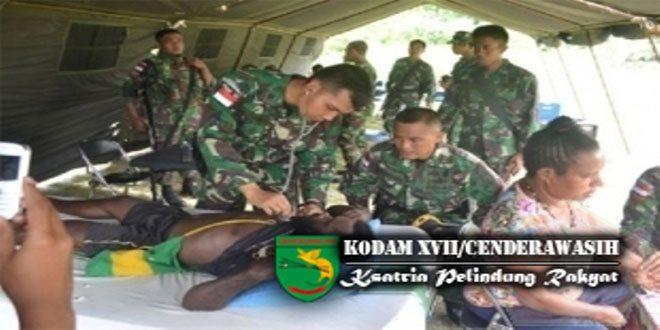 Bakti Sosial di Kabupaten Mimika