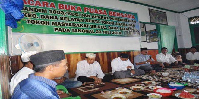 Acara Buka Bersama Koramil 1003-07/Daha Selatan