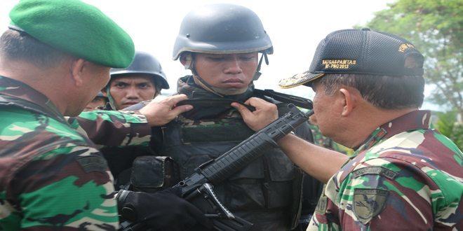 Apel Gelar Pasukan Dalam Rangka Mendukung Pengamanan Pilpres 2014