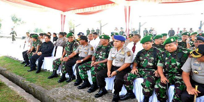 Hadapi Pilpres 2014 TNI/ Polri Gelar Pasukan