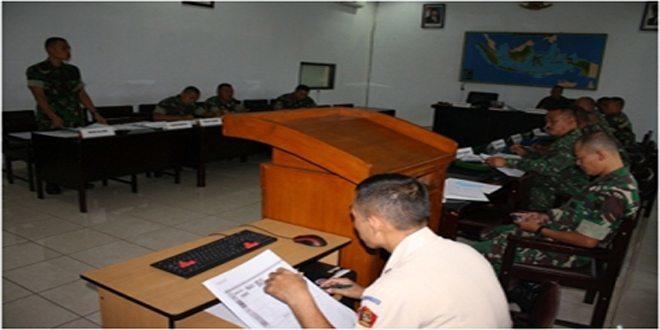 Kegiatan Rapat Koordinasi Korelasi Pendidikan Diksarcabif TA.2014