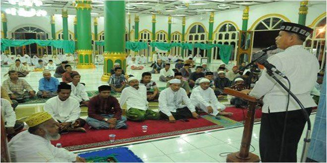 Danrem 011/LW: Dalam Bulan Suci Ramadhan ini Marilah Kita Tingkatkan Iman dan Taqwa untuk Mendekatkan Diri Kepada Allah SWT.