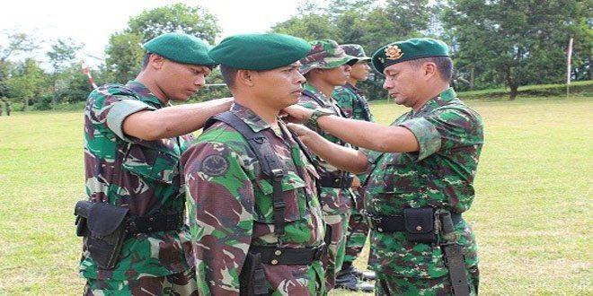 Kasdivif 2 Kostrad Pimpin Tradisi Penerimaan Warga Baru Divisi Infanteri 2 Kostrad