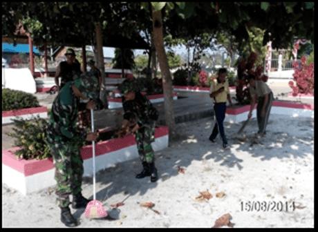 Karya Bhakti TNI Kodim 1012/Btk Bangun Kebersamaan dengan Serbuan Teritorial 2014