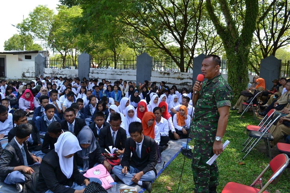 Korem 102/Pjg bersama Dinsos Menggelar Sarasehan Peningkatan Nilai Kepahlawanan