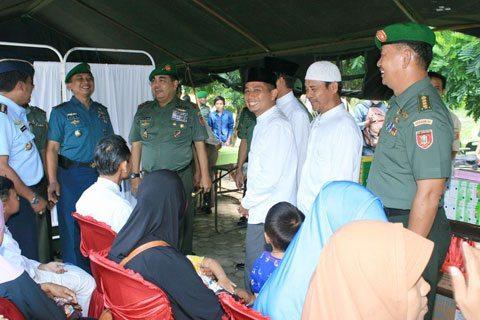 Kesdam VI/Mlw Bhaksos Di Ponpes Hidayatullah