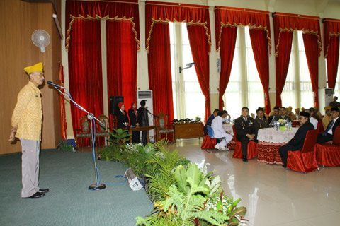 Dandim 1006/Mtp Hadiri Ramah Tamah Dengan Tokoh Pejuang Veteran Se Kota Banjarbaru