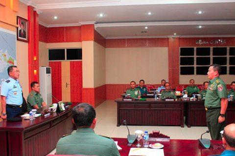Irdam VI/Mlw Terima Kunjungan Tim Wasrik Itjen TNI