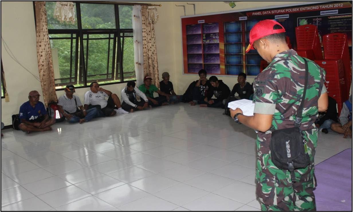 Satgas Yonif Linud 501 Kostrad Gagalkan Trafficking Tujuan Malaysia