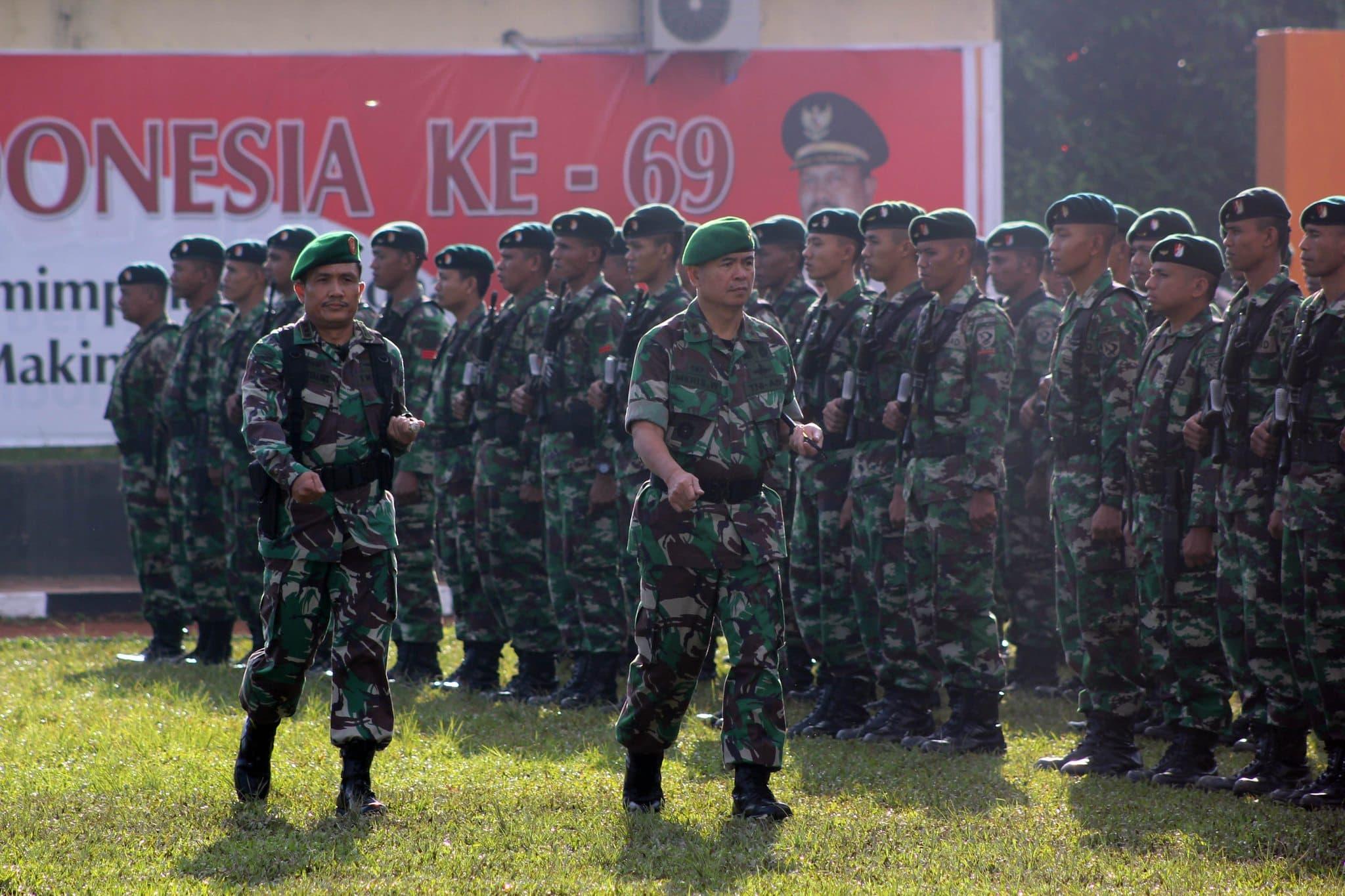 APEL GELAR PASUKAN TNI/POLRI DALAM RANGKA PENGUMUMAN HASIL MK MENGHADAPI PILPRES DAN WAPRES 2014