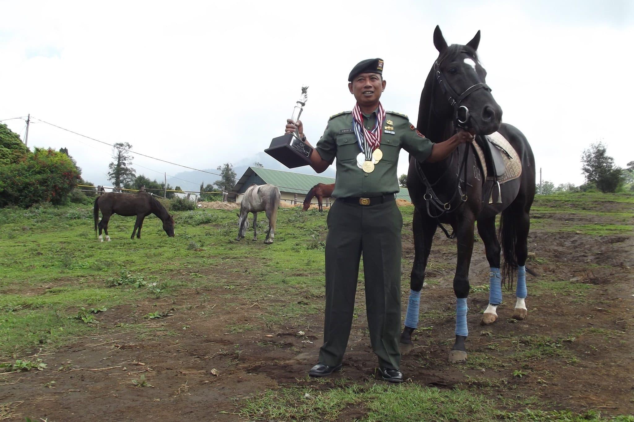 Kisah Inspiratif Mayor (Ckm) drh Joko Suranto, Satu-satunya Dokter Kuda di TNI
