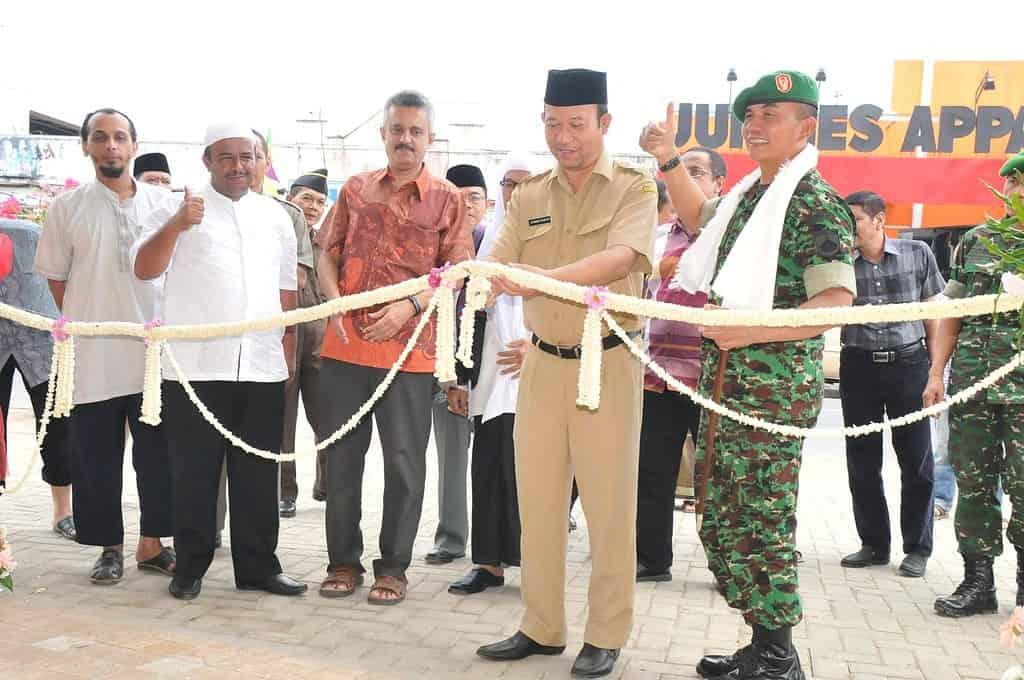 Pangdam IV/Dip Resmikan Masjid Jenderal Soedirman Lewat Teleconference