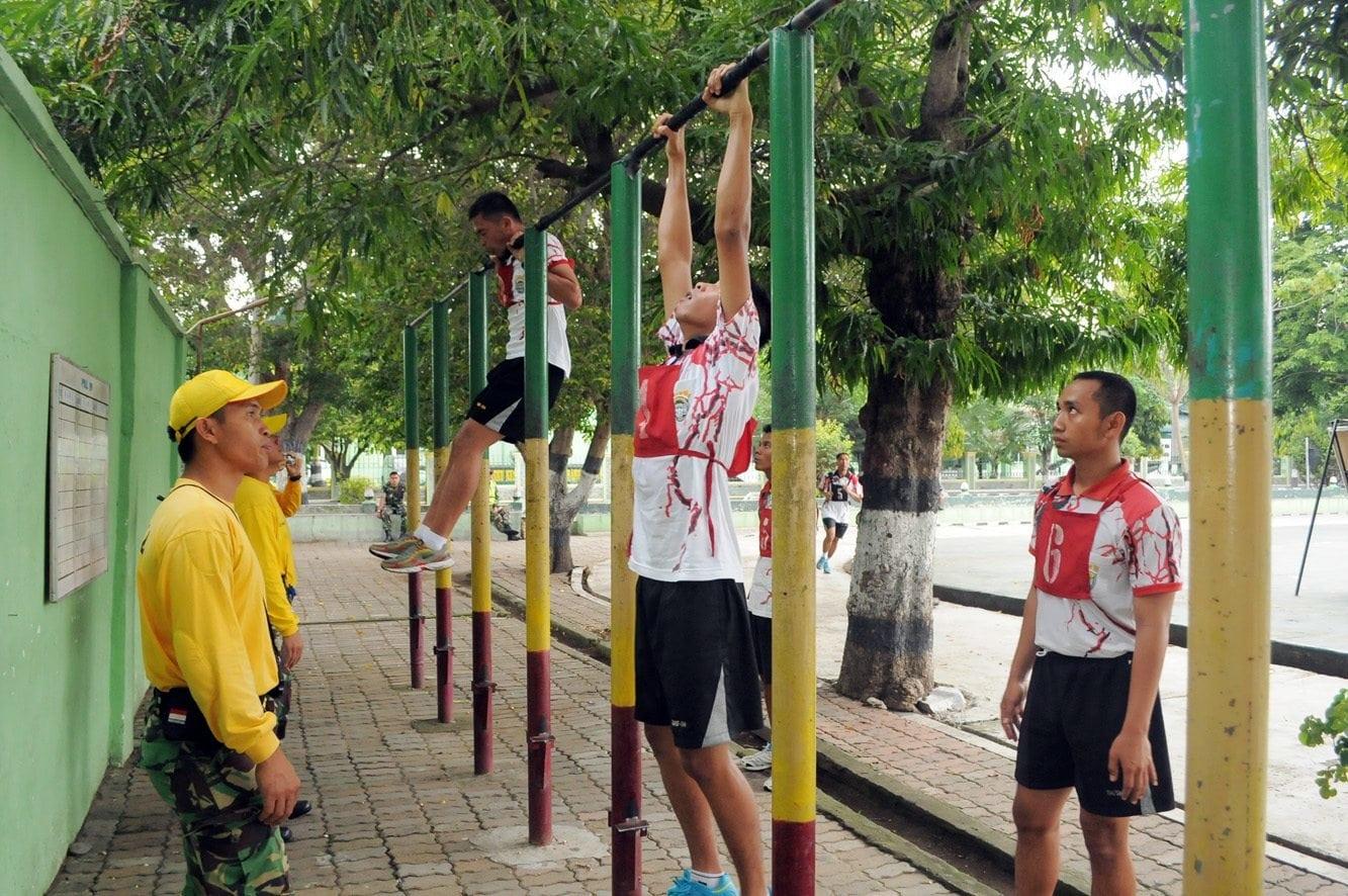 Prajurit TNI Korem 011/Lw Laksanakan Tes Semapta UKP 1-4 2015