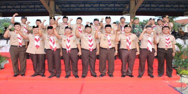 Dandim 0506/Tangerang Hadiri Apel Pramuka