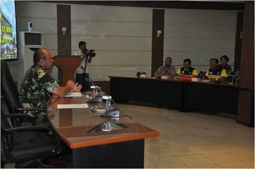 Audensi Kasdam Jaya Dengan Pengurus Persatuan Drumband DKI