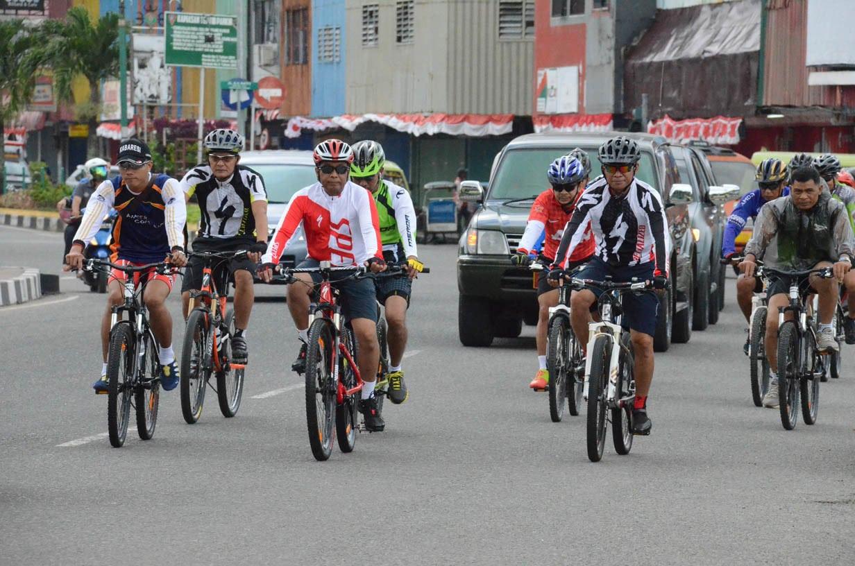 Manfaat Olahraga Bersepeda Bagi Prajurit Kodam XVI/Pattimura