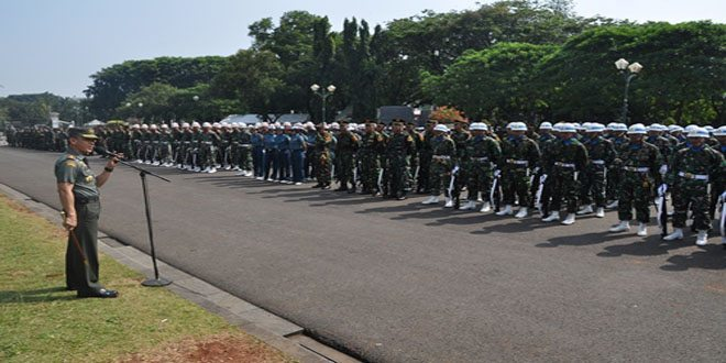 Pangdam Jaya Tinjau Gladi Kotor Upacara 17 Agustus