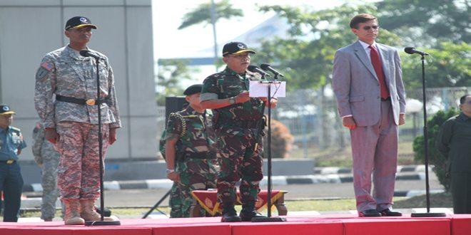 Panglima TNI Buka Latihan GPOI Garuda Canti Dharma 2014