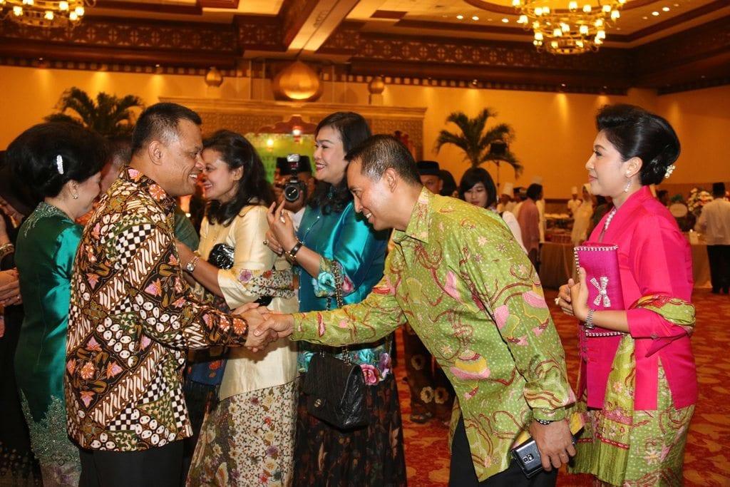 Halal Bihalal Kasad di Balai Kartini Jakarta