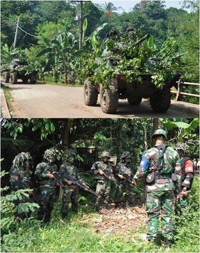 Batalyon Kavaleri-7/Sersus Latihan Uji Siap Tempur Tingkat Peleton