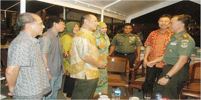 Halal Bilhalal di Kodim 0501/Jakarta Pusat