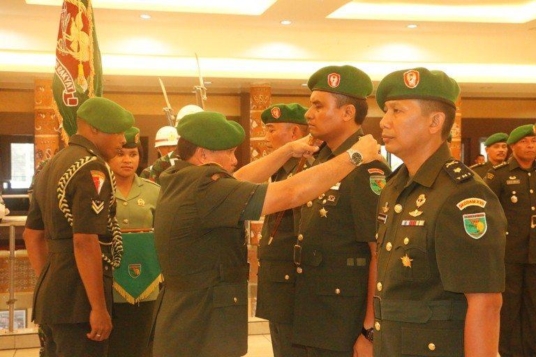 Tradisi Korps Penerimaan Perwira dan Setijab Kodam XVII/Cenderawasih