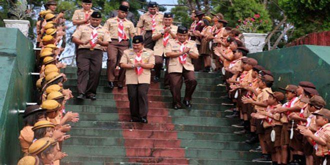 Panglima Kodam XVII/Cenderawasih Memimpin Upacara HUT ke-53 Pramuka