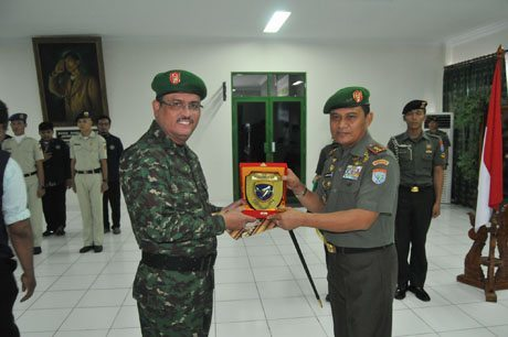 Rektor Untan Pontianak Dikukuhkan sebagai Warga Kehormatan Kodam XII/Tanjungpura