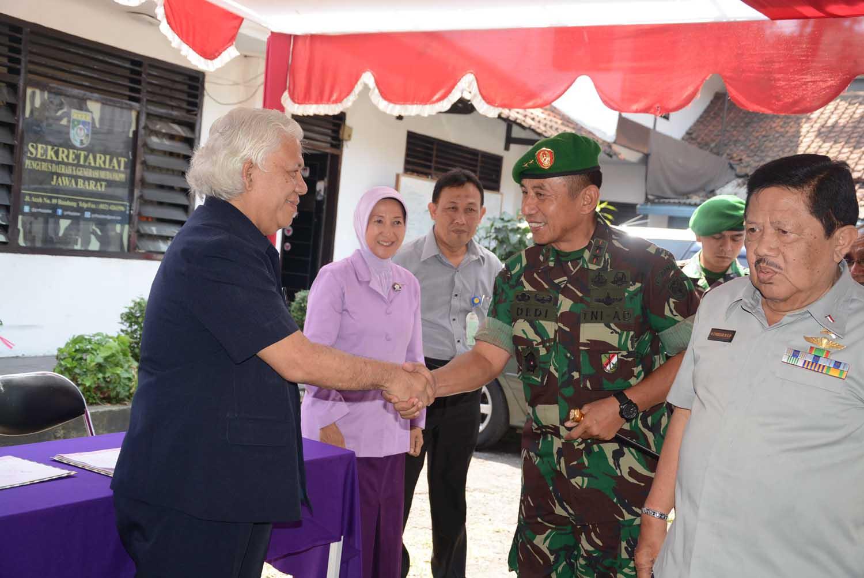 Pangdam III/Siliwangi : Silaturahmi media untuk mendiskusikan persoalan yang dihadapi TNI dan Bangsa.