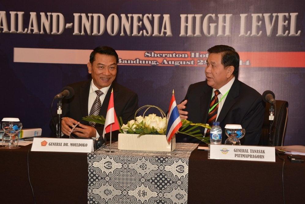 Tingkatkan Kerjasama, TNI dan AB Thailand Gelar Thainesia HLC ke-8