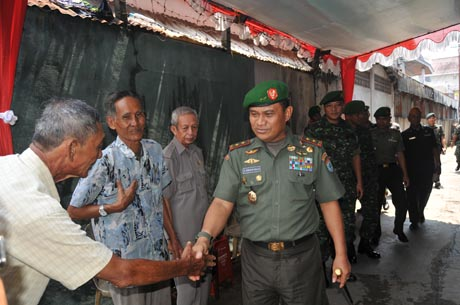 Pangdam XII/Tanjungpura Peduli Pejuang Veteran