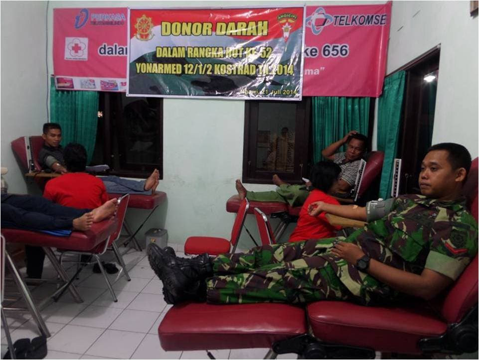 armed 12 donor darah