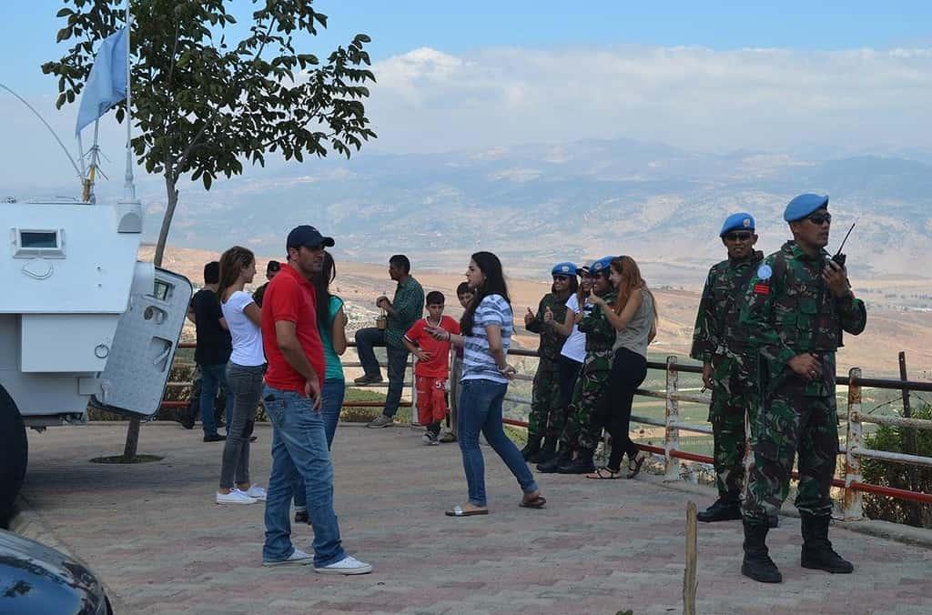 Profesionalisme Prajurit Wan TNI Dalam Menjaga Perbatasan Lebanon-Israel