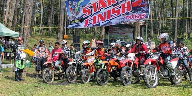 Dandim 0713/Brebes Melepas Club Motor Trail