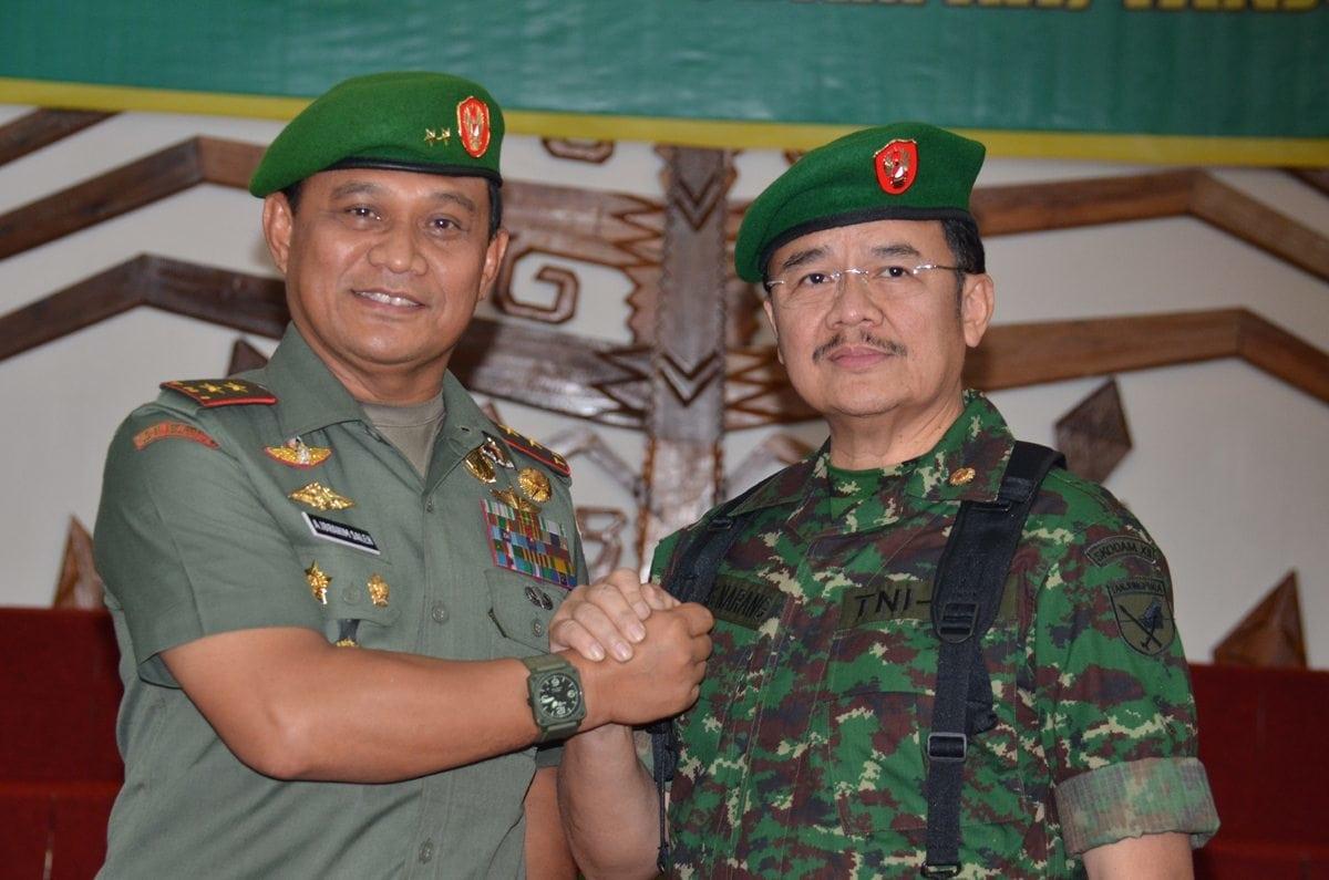 Gubernur Kalteng Sebagai Warga Kehormatan Kodam XII/Tanjungpura