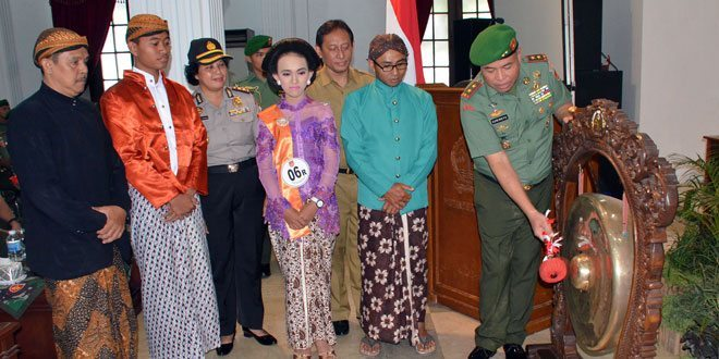 Niyoga dan Pesinden Ikuti Sinden Idol dan Festival Karawitan Kodam IV/Diponegoro