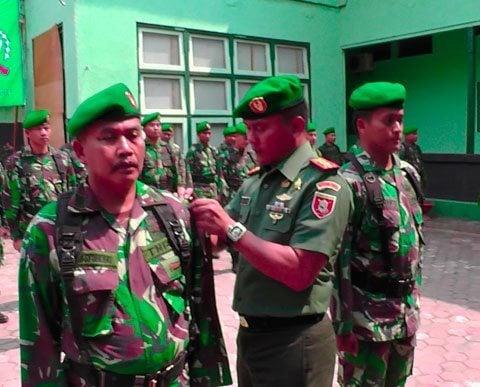 Upacara Pembukaan Lattis Intelijen Kodim 1007 Banjarmasin