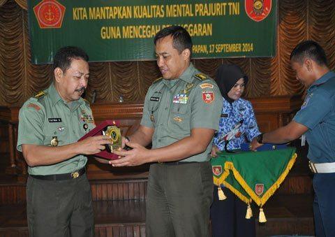 Mantapkan Kualitas Mental Prajurit Dan PNS TNI