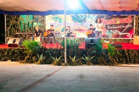 Denarhanud Rudal-002 Selenggarakan Festival Akustik Antar Pelajar Sekota Bontang