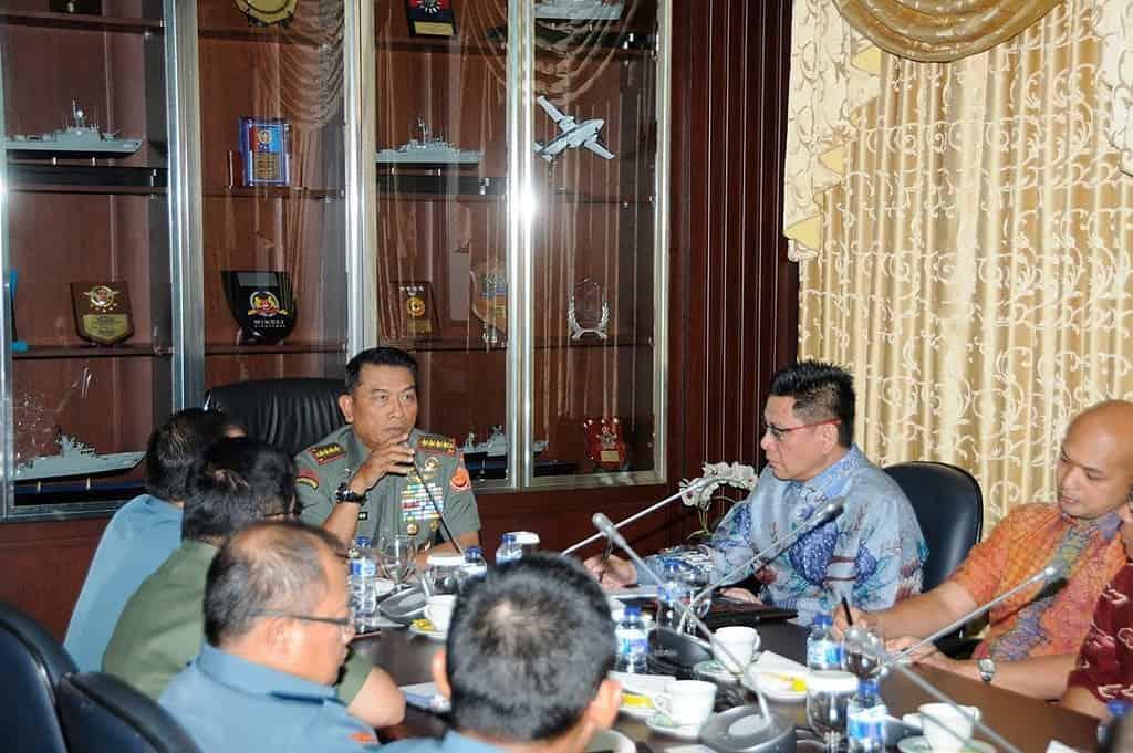 Panglima TNI Terima Tim Political Wave
