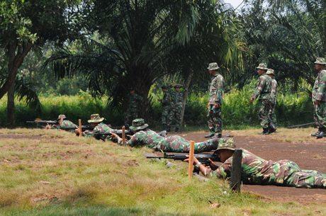 Prajurit Tanjungpura Tingkatkan Profesionalisme Menembak