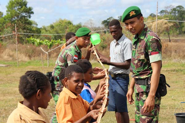 Character Building Bagi Generasi Muda Di Wilayah Perbatasan RI-PNG