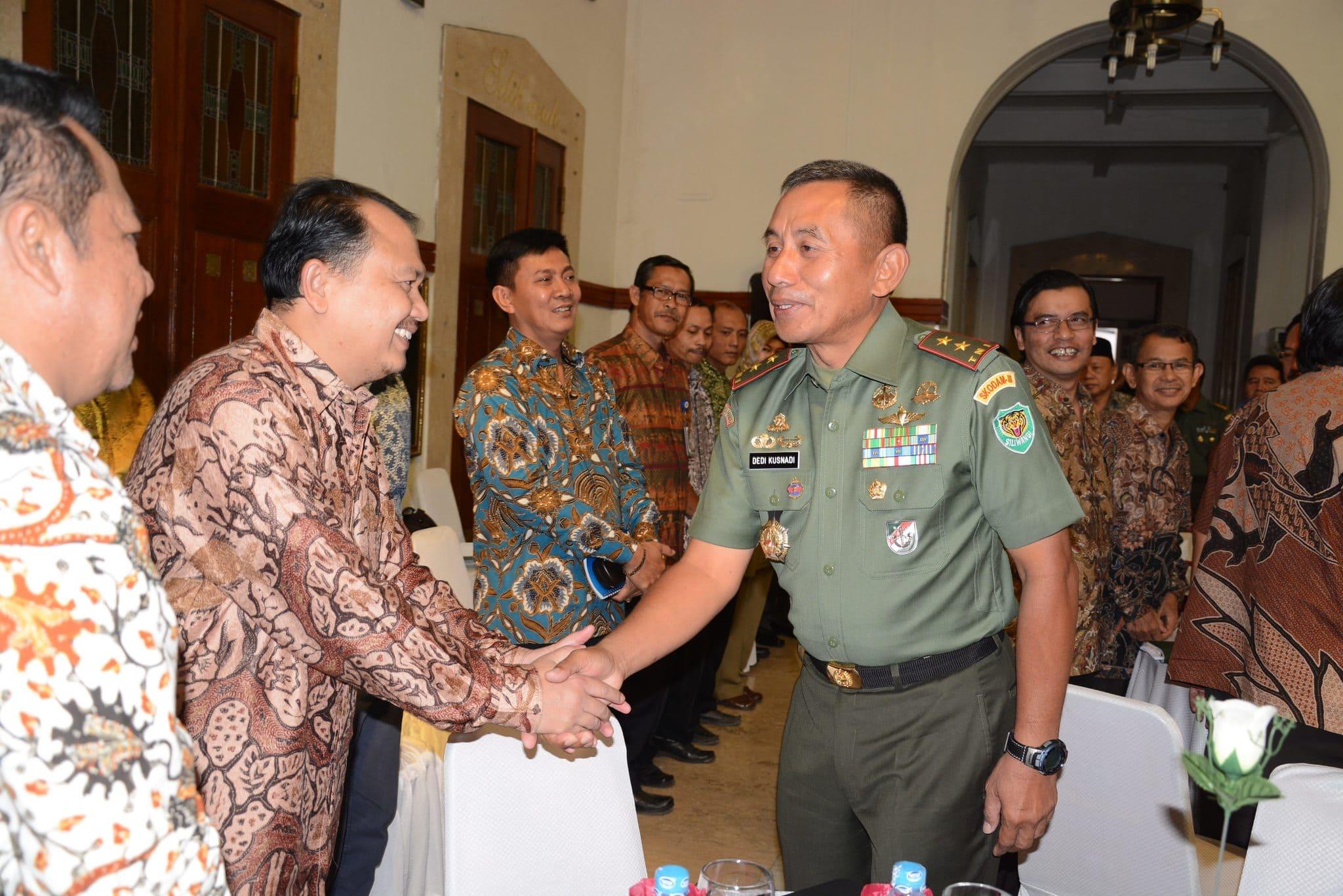 Pangdam III/Siliwangi Silaturahmi Dengan Rektor Se-Jawa Barat