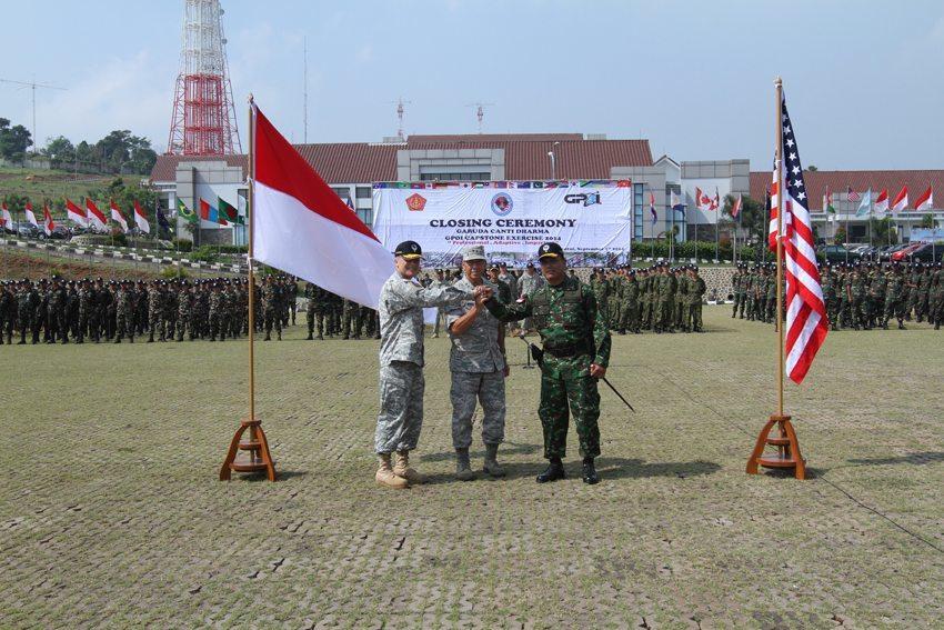 Komandan PMPP TNI Tutup Latihan Bersama TNI dan GPOI USA