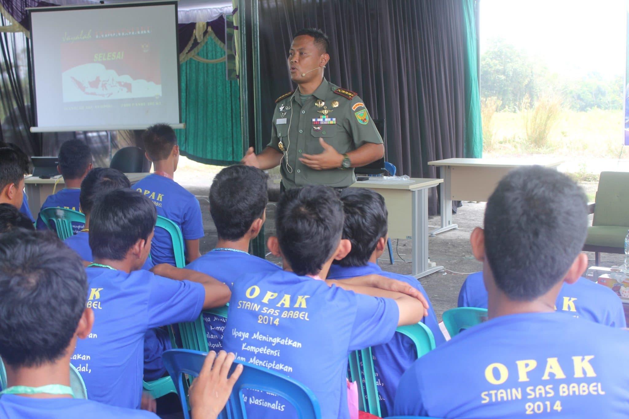 ARMY GOES TO SCHOOL BERLANJUT HINGGA KE KAMPUS