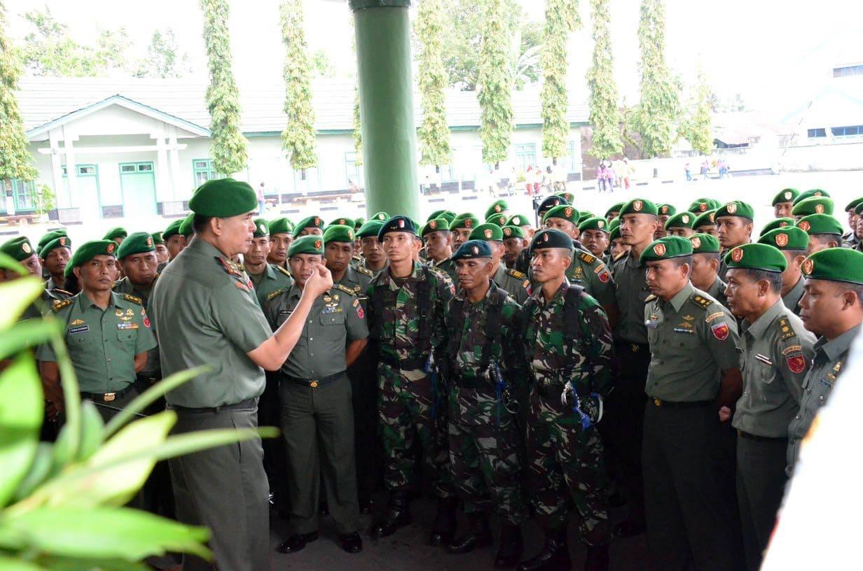 Jam Pangdam kepada Perwira 1